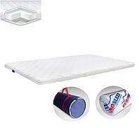 Матрац на диван тонкий ролл EuroSleep Dual, размер 70*190, высота 5-5.5 см, Топпер Футон
