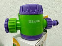 Таймер механический для полива с фильтром от грязи (до 2-х часов) // PALISAD 661908