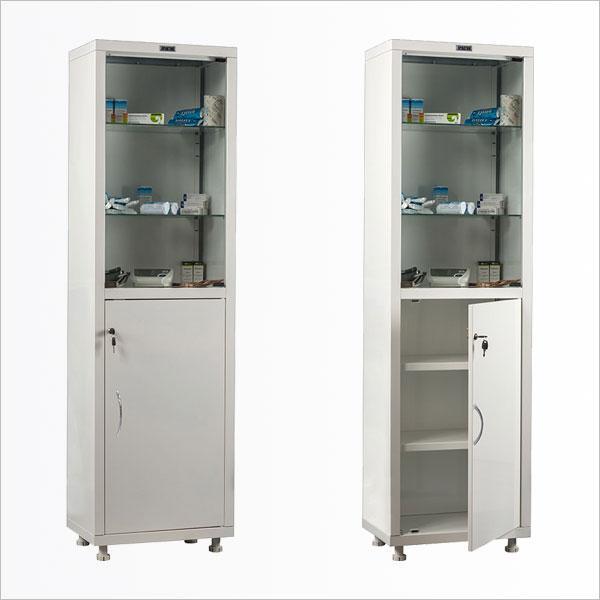 Шкафы для лекарств и инструментов