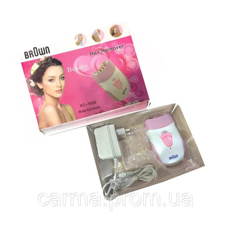 Эпилятор Brown 1035 Белый/Розовый