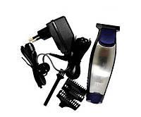 Машинка для стрижки Gemei GM-6025 Черный/Серебристый, фото 1