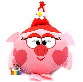 Мягкая игрушка подушка «Смешарики» (Копиця) - Свинка Нюша, 32х32х10 (00280-9)