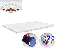 Матрац на диван тонкий ролл EuroSleep Cocos, размер 90*190, высота 5.5-6 см, Топпер Футон
