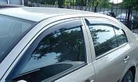 Дефлекторы окон (ветровики) Skoda octavia tour sedan liftback (шкода октавия тур седан/ хетчбек 1996-2010)
