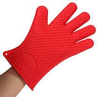 Силиконовые перчатка-прихватка