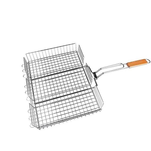 Универсальная решетка-гриль BBQ Benson BN- 906 для барбекю 32х26 см