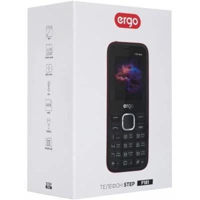Мобильный телефон Ergo F181 Step Dual Sim Black