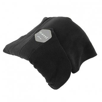 Подушка-шарф для путешествий Travel pillow 3160 Черный