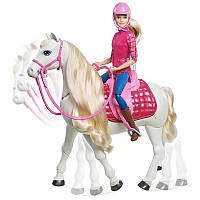 Игровой набор кукла Barbie Всадница и Интерактивная танцующая лошадь Dreamhouse SKL52-241085