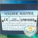 Центробежный поверхностный насос для полива Wasser Master CPM 158 0.75 кВт, фото 7