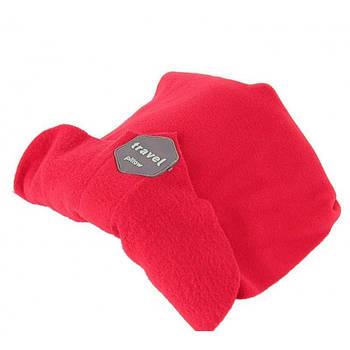 Подушка-шарф для подорожей Travel pillow 3160 Червоний