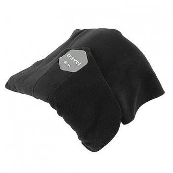 Подушка-шарф для подорожей Travel pillow 3160 Чорний