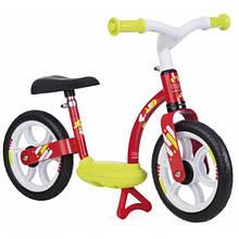 Smoby Балансуючий велосипед беговел з підніжкою червоний 770122 Scooter