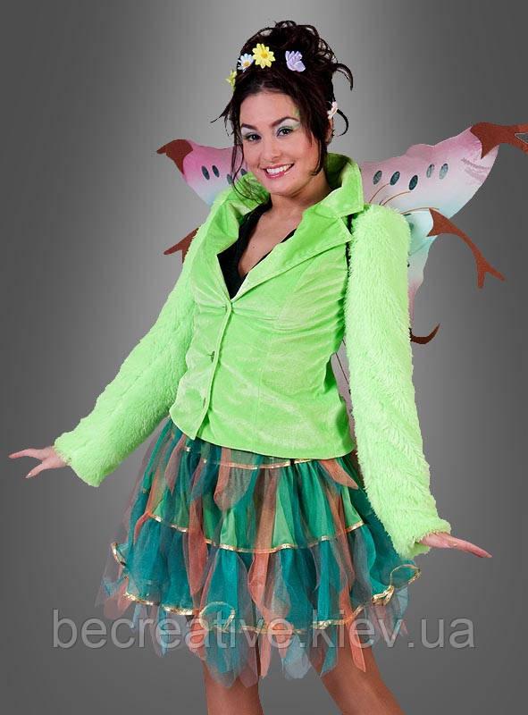 Женская карнавальная юбка для образа эльфа или феи