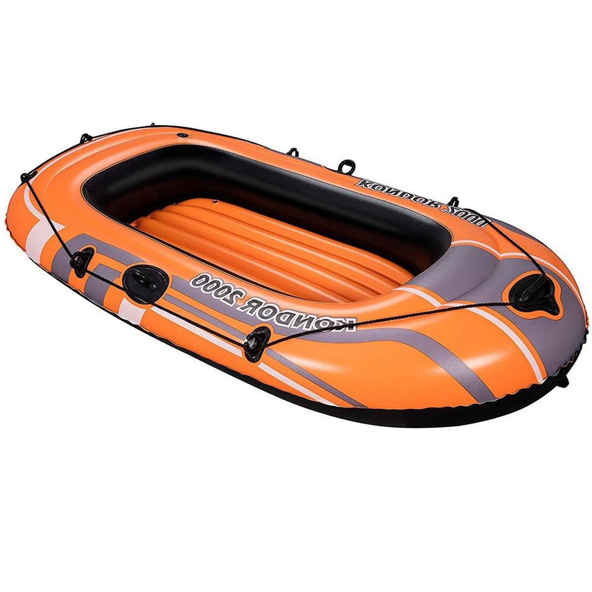 Полутораместная надувная лодка Bestway, Condor 2000 188х98 cм