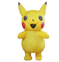 Надувной костюм Resteq Пикачу для взрослого 150~195 см Желтый (1075079097)