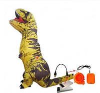 Надувной костюм Resteq Тираннозавра T Rex Желтый (1119081515)