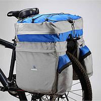 Велосумка велобаул сумка-штаны на багажник Roswheel 60L
