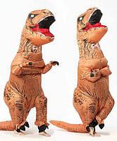 Надувной костюм Тираннозавра Resteq 160~195см Коричневый (975944004)
