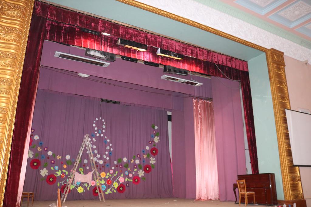 Отопление  Дома Культуры Актовый зал и сцена Одесская обл.