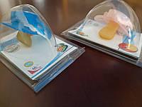 Пустушка дитяча латексна ортодонтна