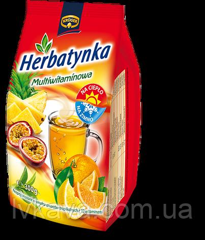 Чай растворимый Kruger мультивитамин, 300 гр, фото 2