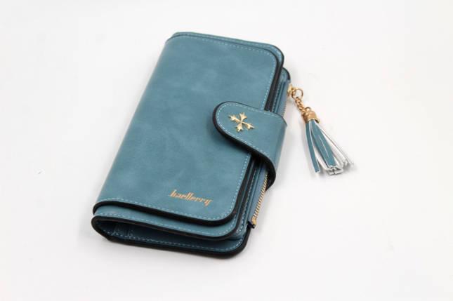 Гаманець, портмоне Baellerry N2341 (Бірюзовий), фото 2