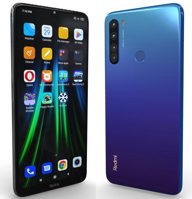 Смартфон Xiaomi Redmi Note 8T 4/64Gb Blue Международная версия