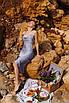 Шелковое платье комбинация с открытой спиной и длиной миди 14ty1083, фото 7