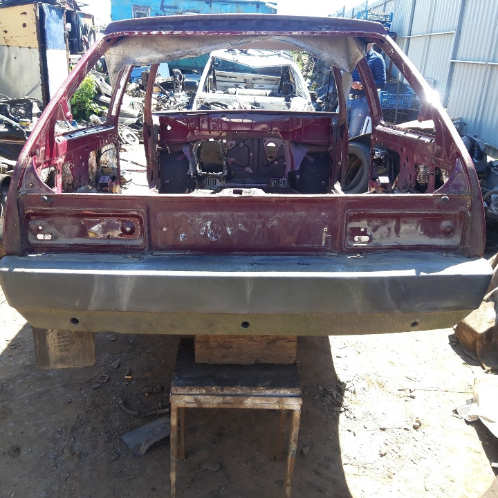 Задняя часть кузова задок  ЗАЗ 1102