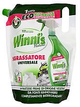 Гіпоалергенна універсальний чистячий засіб Winni's Sgrassatore EcoFormato 1000 ml