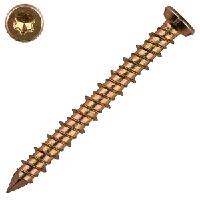 Турбовинт для крепления оконных и дверных рам головка в потай (Torx30) 7,5х72 (100 шт./уп.)