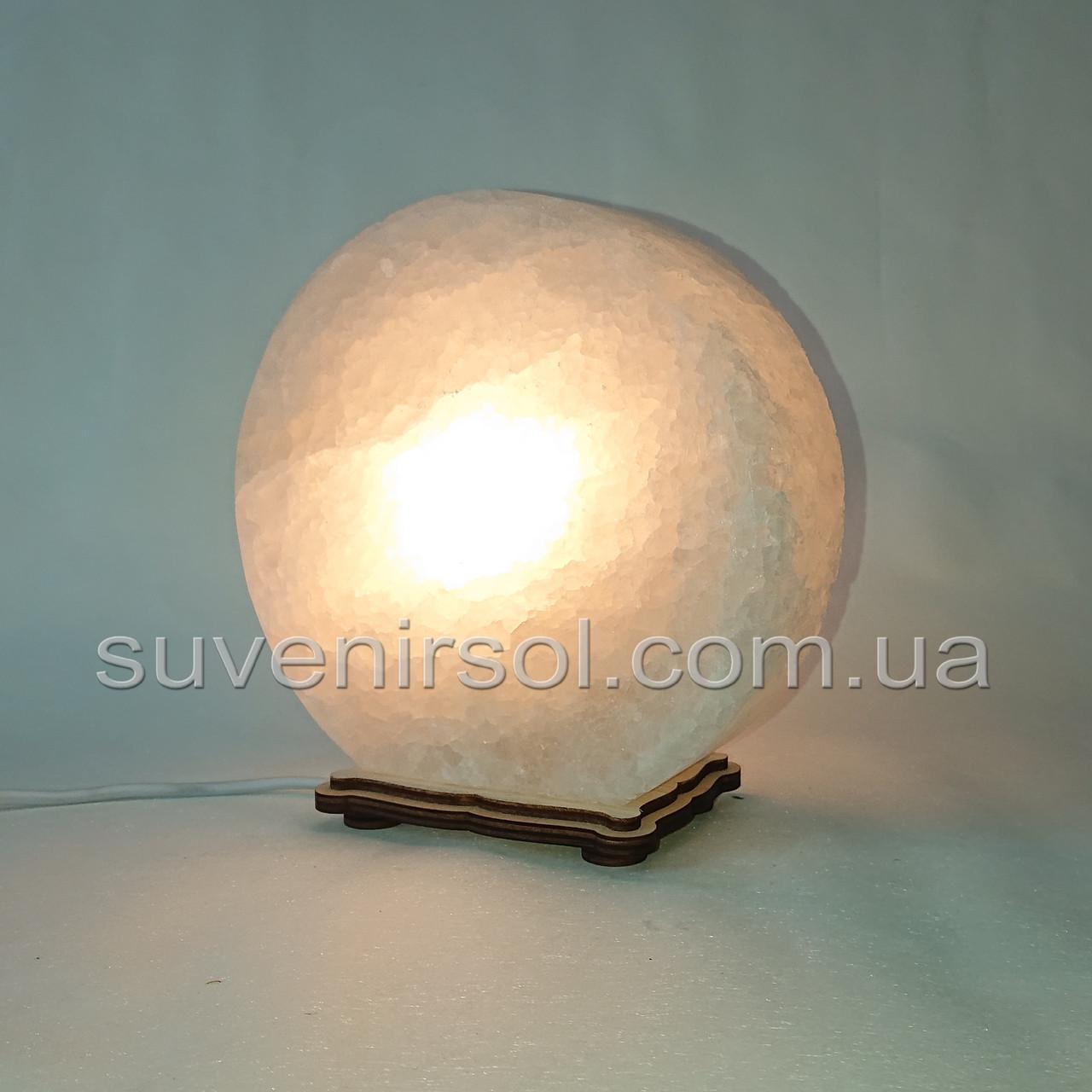 Соляной светильник круглый