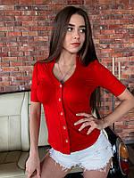 Женская рубашка с коротким рукавом, фото 1
