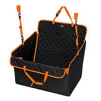 Автогамак трансформер для перевозки собак Comfort MINI ВOX универсальный чехол для авто