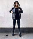 Женская кожаная куртка косуха из мягкой экокожи 68kur291, фото 2
