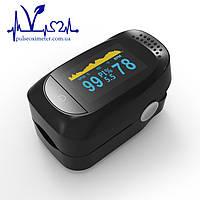 Пульсоксиметр ОРИГИНАЛ IMDK medical A2 на палец для измерения пульса, сатурации и индекса перфузии крови