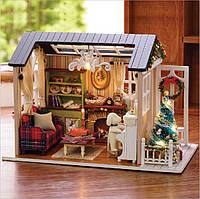 Румбокс DIY house Новогодний Holiday Time Z-009
