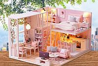 Румбокс 3D  конструктор миниатюрный  дом DIY house Quiet Life
