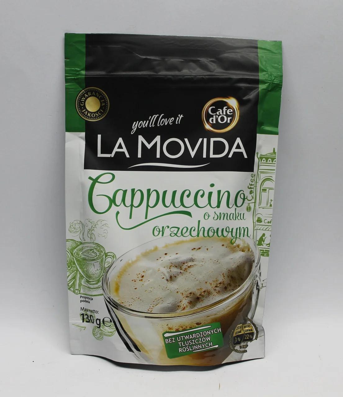 Капучіно Сafe d'or la movida горіх 130 г