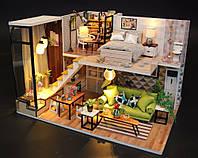 Румбокс  миниатюрный кукольный дом Enjoy the romantic Nordic