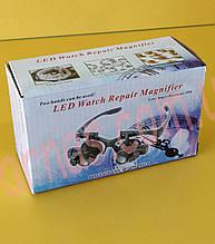 Бинокуляр очки бинокулярные со светодиодной подсветкой 9892G2