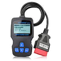 Автомобильный OBD2 диагностический сканер OM123 проводной с дисплеем