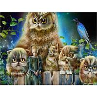 Картина по номерам Фантастические животніе 40x50 см в коробке Вектор Y5330
