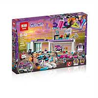 """Конструктор Friends Lepin 01071 """"Мастерская по тюнингу автомобилей"""" (реплика Lego 41351) 462 деталей KK"""
