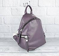 Рюкзак лавандовый кожзам Velina Fabbiano 531052, фото 1
