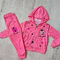 Спортивный костюм для девочки на 2-6 лет (Венгрия)
