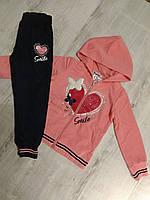 Спортивный костюм для девочки на 3-8  лет (Венгрия)