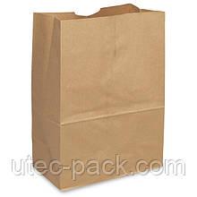 Бумажный  крафт-пакет без ручек  190*115*280
