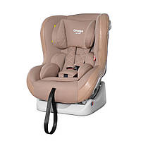 Детское автокресло CARRELLO Omega CRL-11806 Biege Lion от 9 до 15 кг группа 0+1 | Автокрісло Каррелло Бежевое